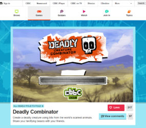 CBBC website