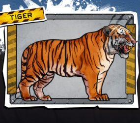 In game art mock up Tiger