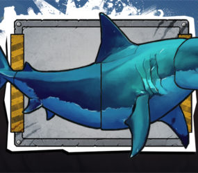 In game art mock up Shark