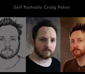 Self portraits 2012-13