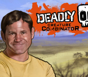 Deadly 60 title screen