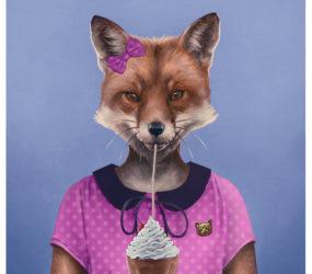 Milkshake Fox