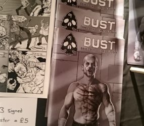 Bust in print