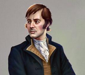 Robert Burns close up