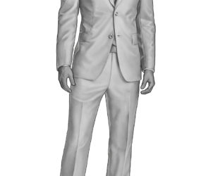 Holland and Sherry Mannequin Suit.