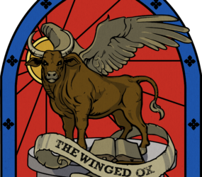 The Winged Ox logo