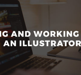 Hiring and working with an illustrator.