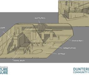Dunterlie Community Hub Interior
