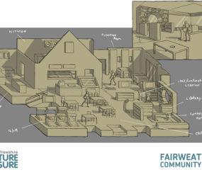 Fairweather Community Hub Interior