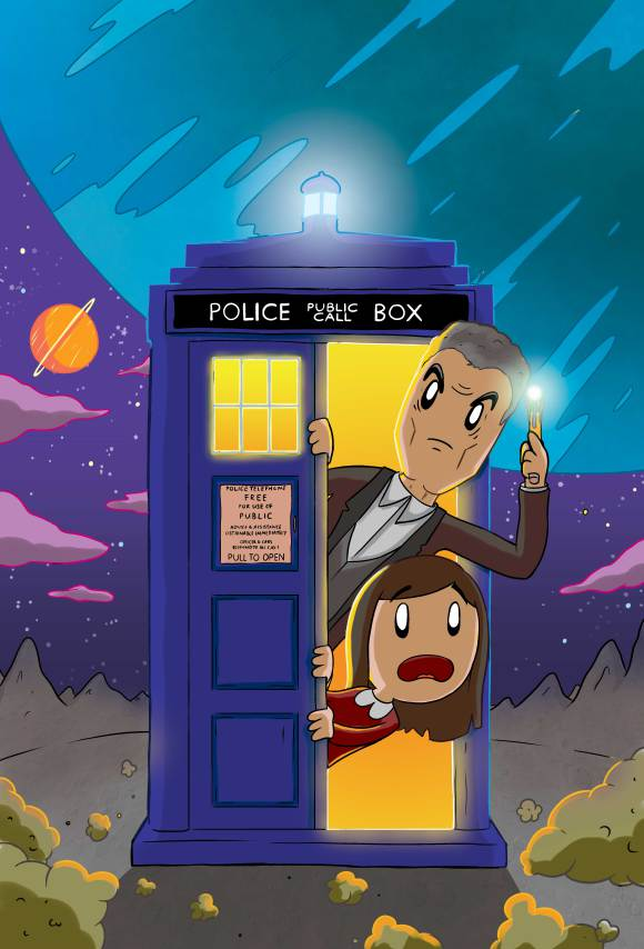 Doctor Who Neil Slorance