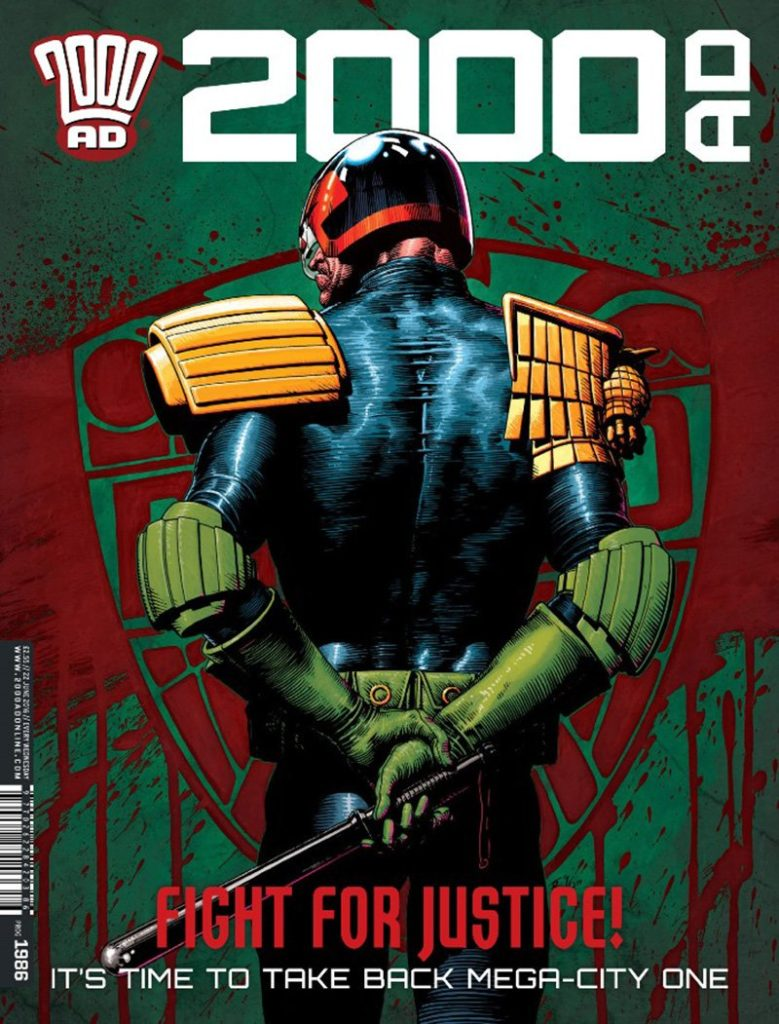 Judge Dredd Tom Foster