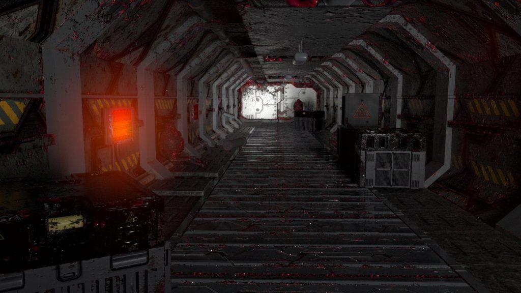 SciFi Corridor Gordon Neill